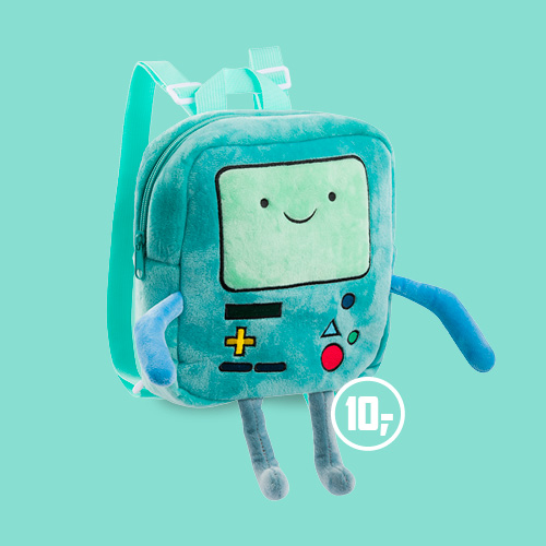 Adventure time rugzak Beemo