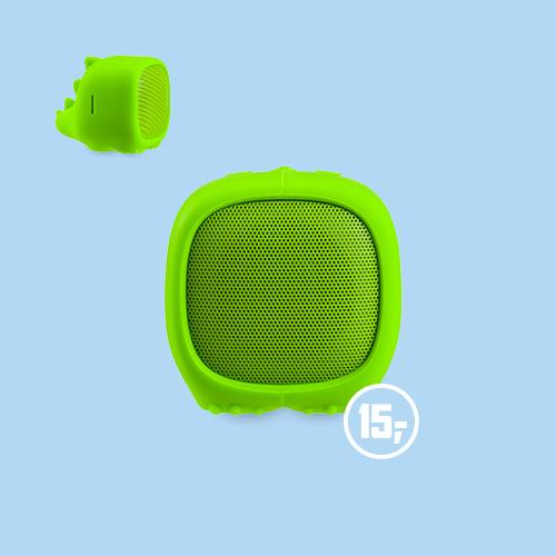 Draagbare draadloze dino speaker