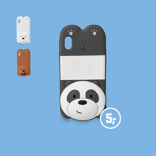 We bare bears smartphone hoesje