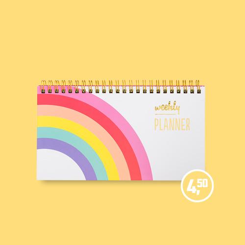 Planner regenboog