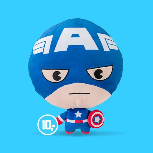 Marvel Captain America knuffel