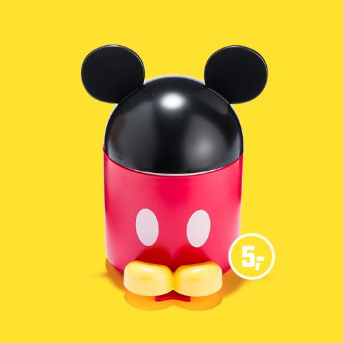Disney Mickey Mouse prullenbakje