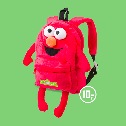 Sesamstraat - rugzakje Elmo