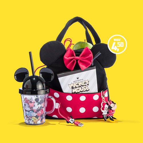 Disney Mickey & Minnie Mouse tas en accessoires