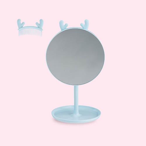 Make-up spiegeltje met rendier oren