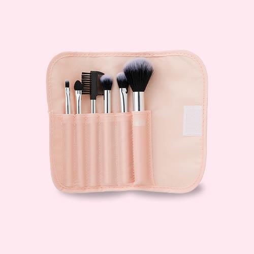 Set met make-up kwasten